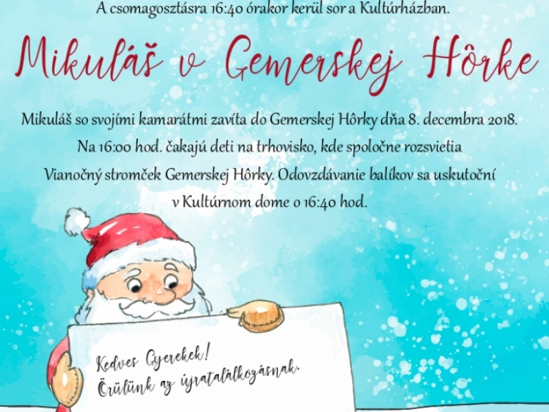 Aktuality / Gemerskohorský Advent 2018