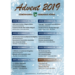 Advent v Gemerskej Hôrke 2019